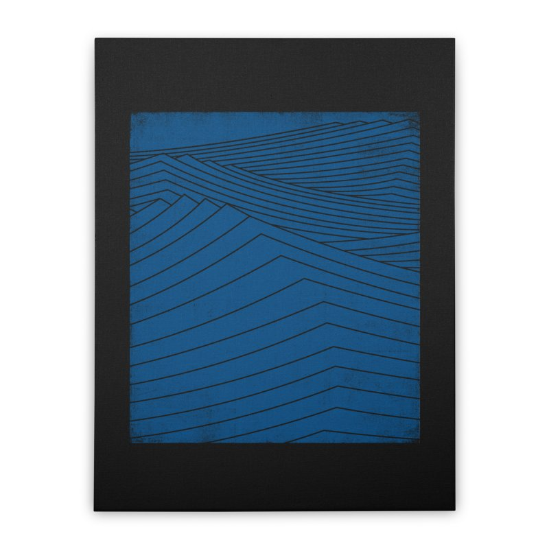 Twilight Blues Home Stretched Canvas by bulo