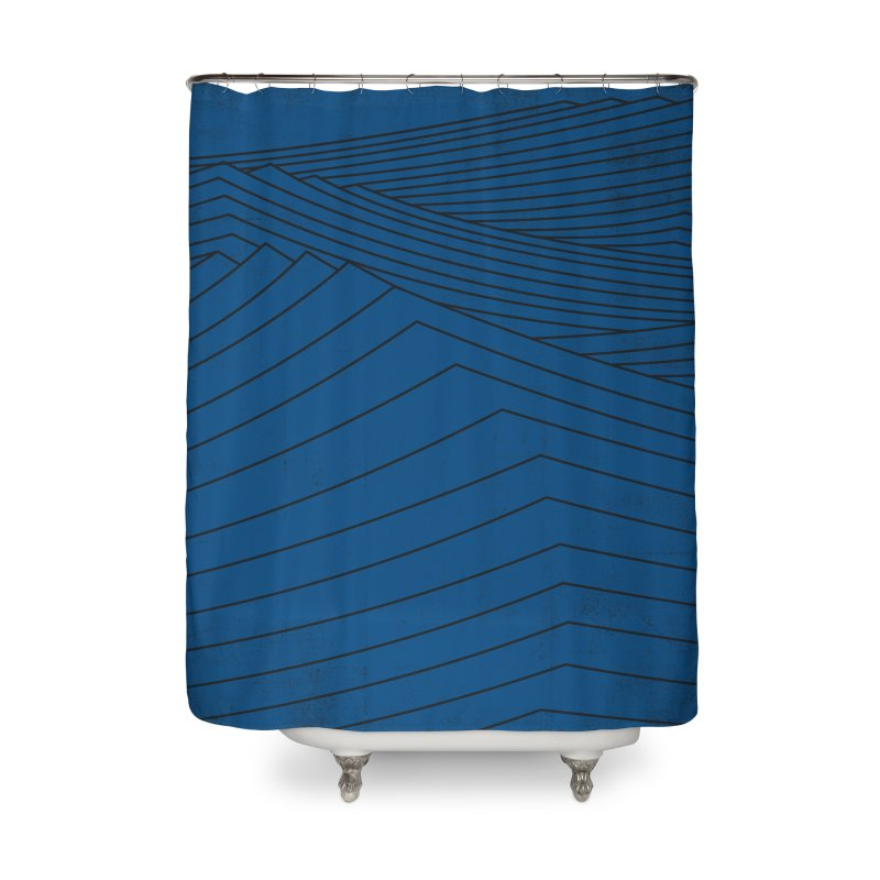Twilight Blues Home Shower Curtain by bulo