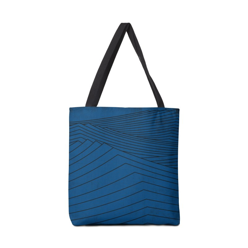 Twilight Blues Accessories Tote Bag Bag by bulo