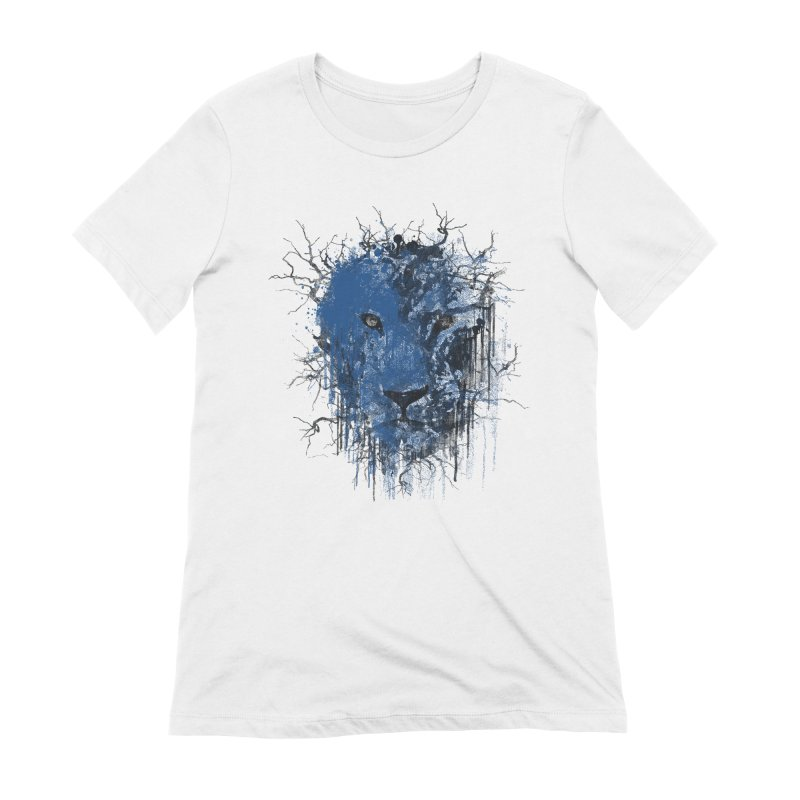 Fusion Blue Women's Extra Soft T-Shirt by bulo