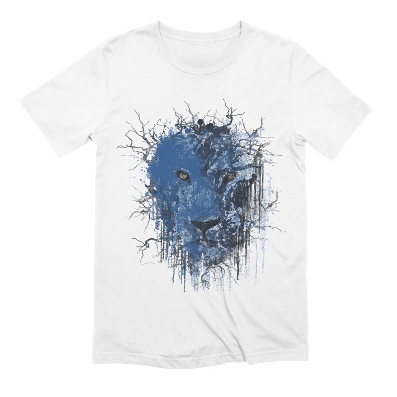 Fusion Blue Men's Extra Soft T-Shirt by bulo
