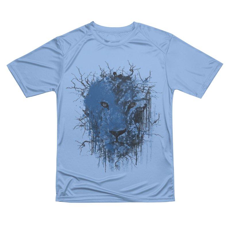 Fusion Blue Men's Performance T-Shirt by bulo