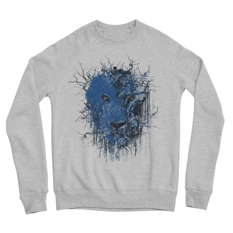 Fusion Blue Women's Sponge Fleece Sweatshirt by bulo
