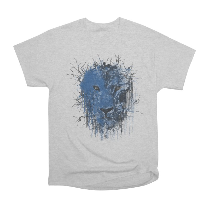 Fusion Blue Men's Heavyweight T-Shirt by bulo