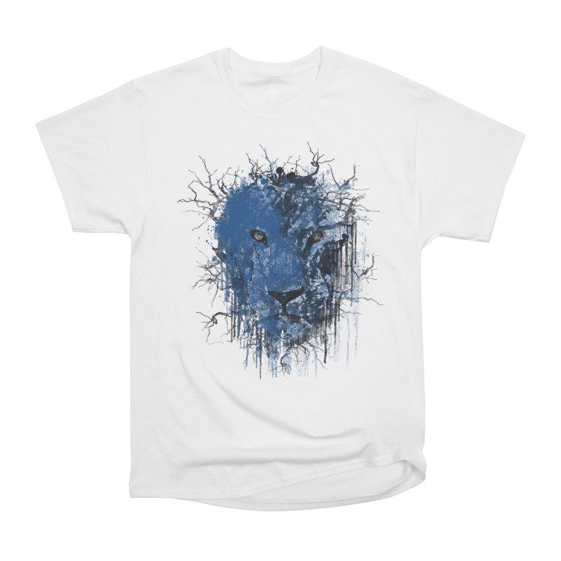 Fusion Blue Women's Heavyweight Unisex T-Shirt by bulo