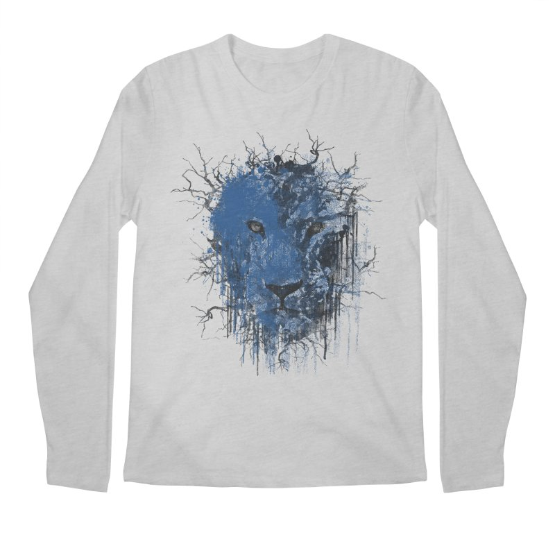 Fusion Blue Men's Regular Longsleeve T-Shirt by bulo