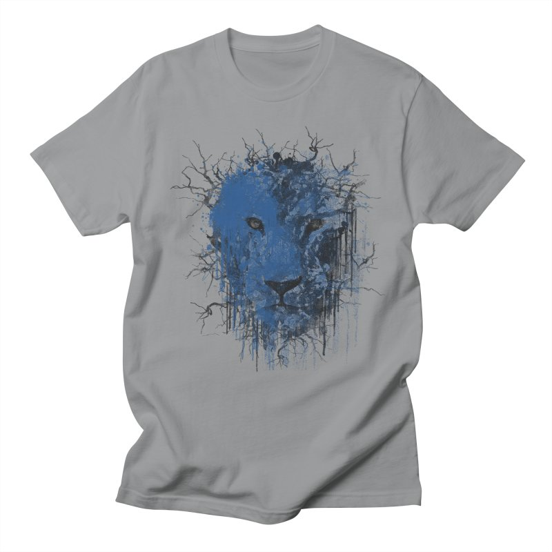 Fusion Blue Men's Regular T-Shirt by bulo
