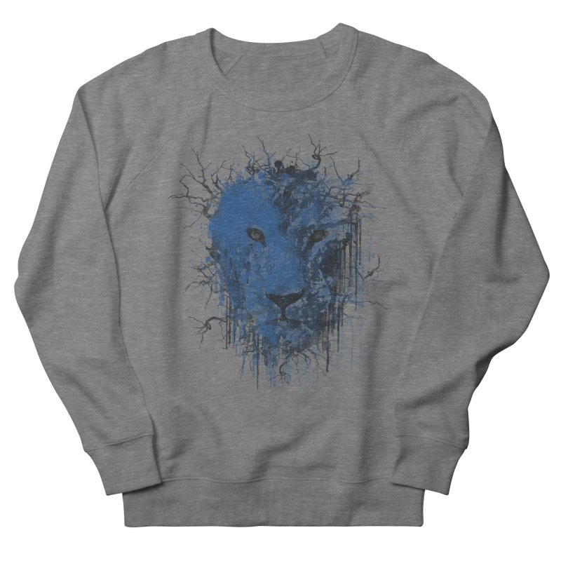Fusion Blue Men's French Terry Sweatshirt by bulo