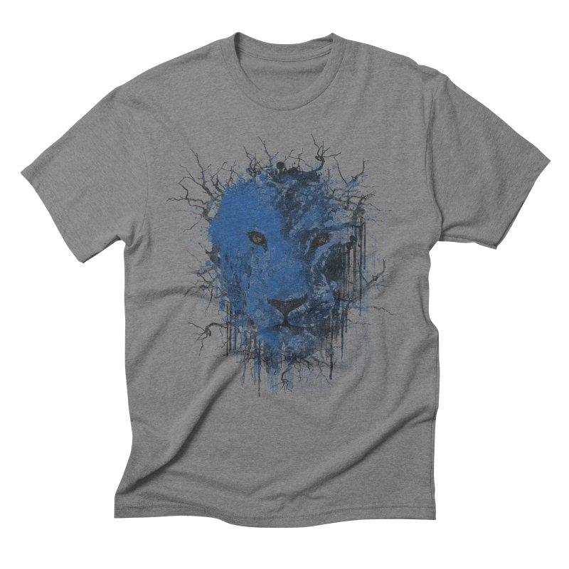 Fusion Blue Men's Triblend T-Shirt by bulo
