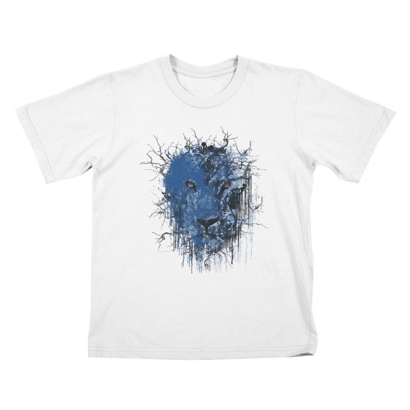 Fusion Blue Kids T-Shirt by bulo