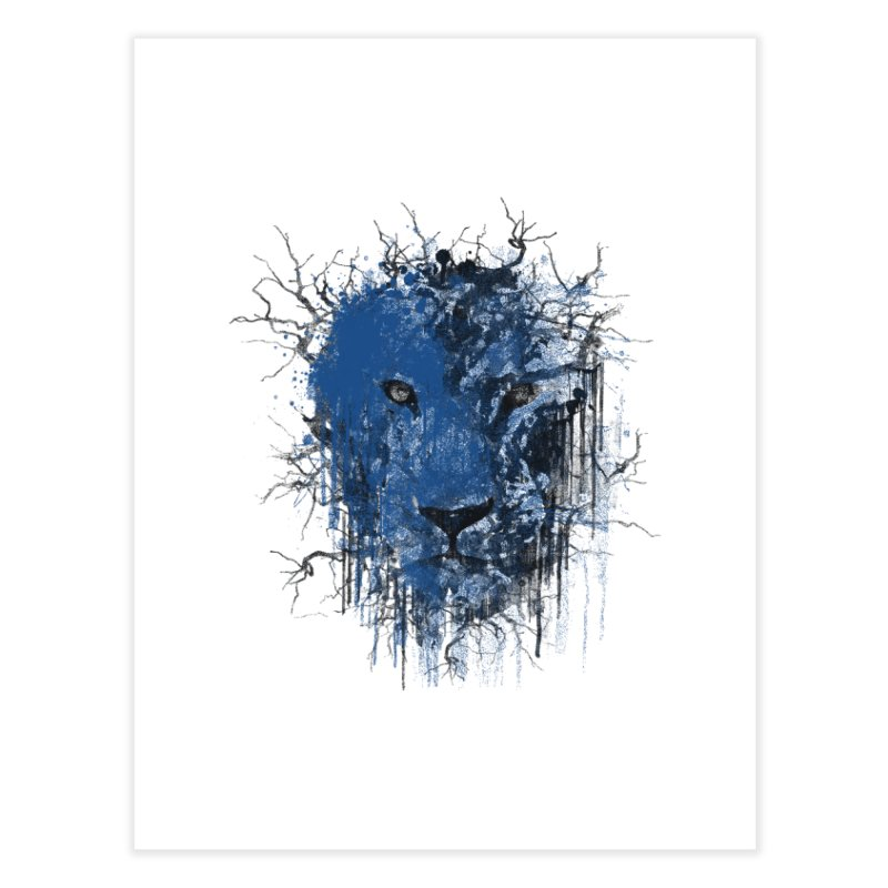 Fusion Blue Home Fine Art Print by bulo