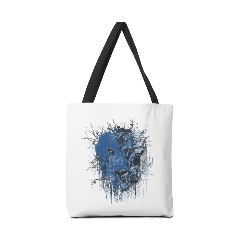 Fusion Blue Accessories Tote Bag Bag by bulo