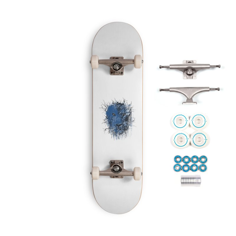 Fusion Blue Accessories Complete - Basic Skateboard by bulo