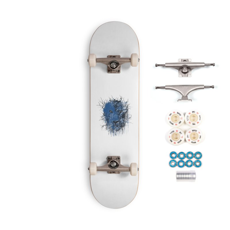 Fusion Blue Accessories Complete - Premium Skateboard by bulo