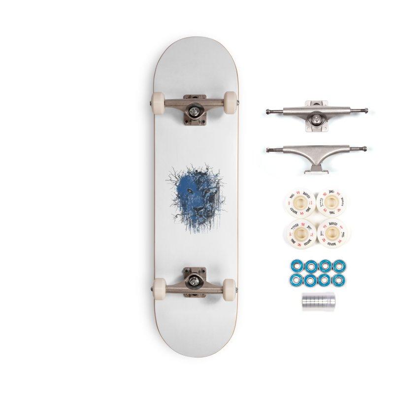 Fusion Blue Accessories Complete - Premium Skateboard by bulo