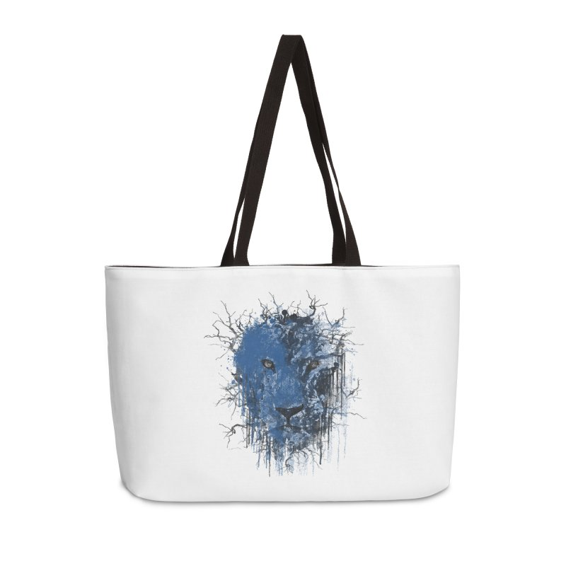 Fusion Blue Accessories Weekender Bag Bag by bulo