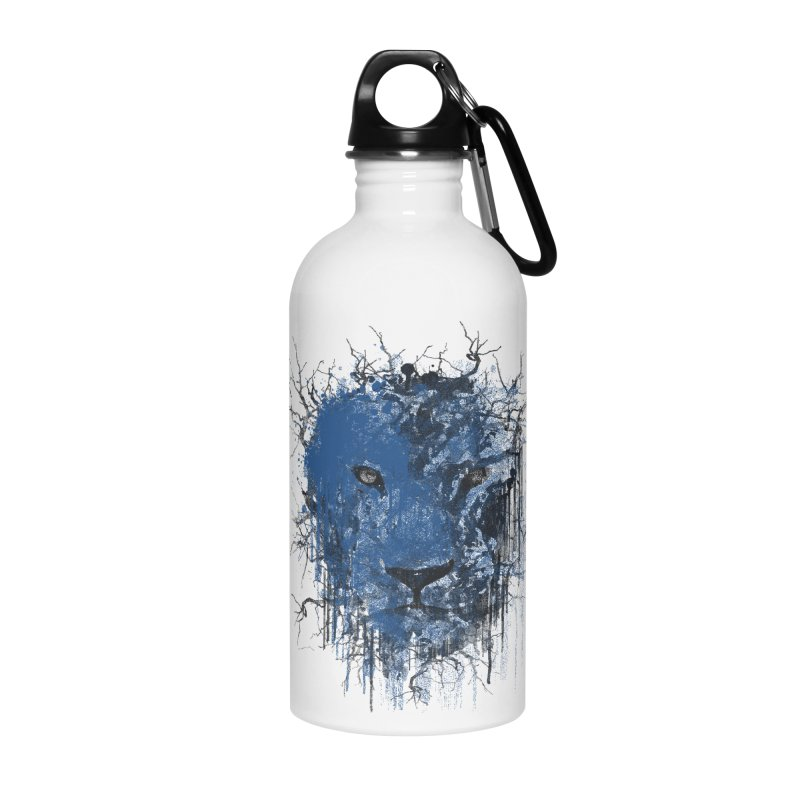 Fusion Blue Accessories Water Bottle by bulo