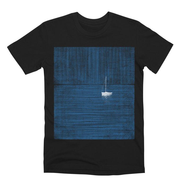 Blue Parade Men's Premium T-Shirt by bulo