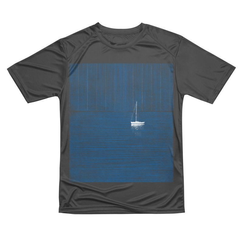 Blue Parade Men's Performance T-Shirt by bulo