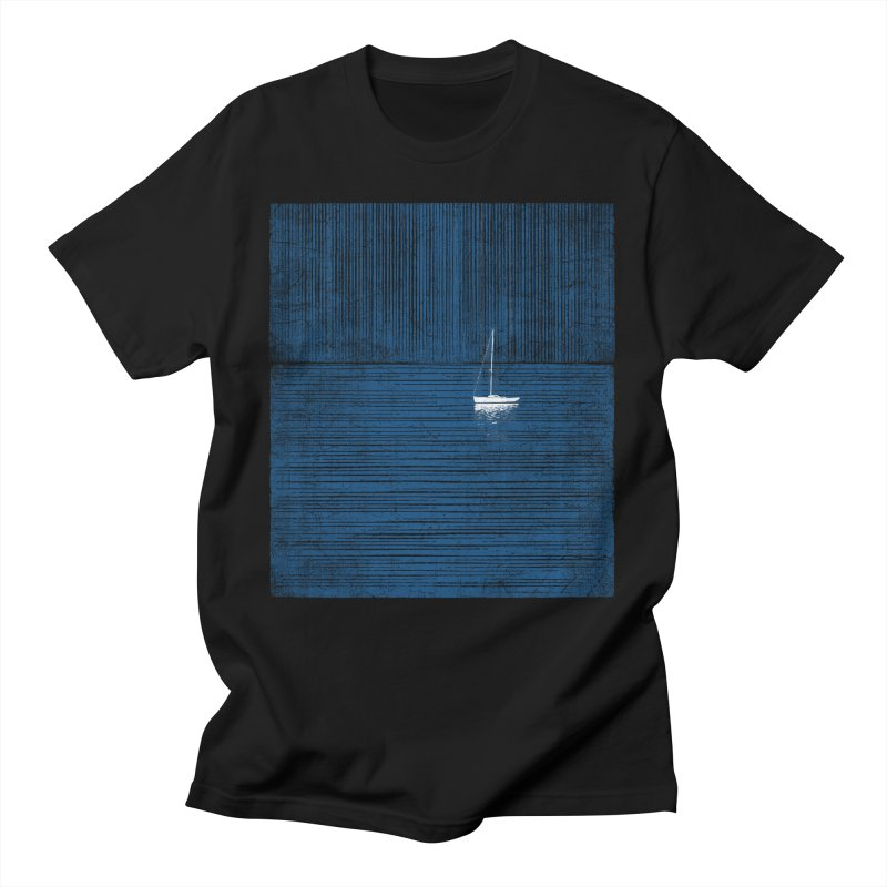 Blue Parade Men's T-Shirt by bulo