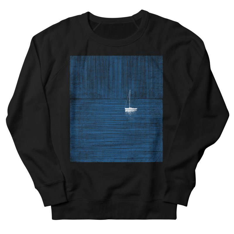 Blue Parade Men's French Terry Sweatshirt by bulo