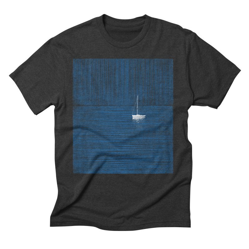 Blue Parade Men's Triblend T-Shirt by bulo