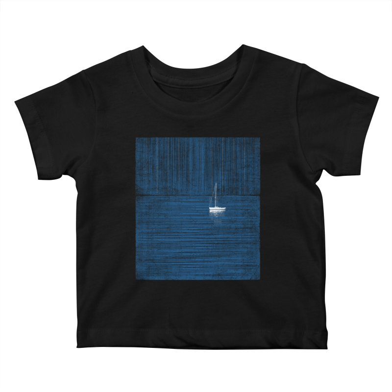 Blue Parade Kids Baby T-Shirt by bulo
