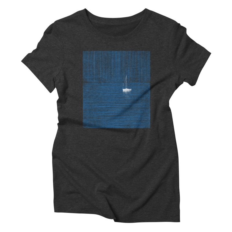Blue Parade Women's T-Shirt by bulo