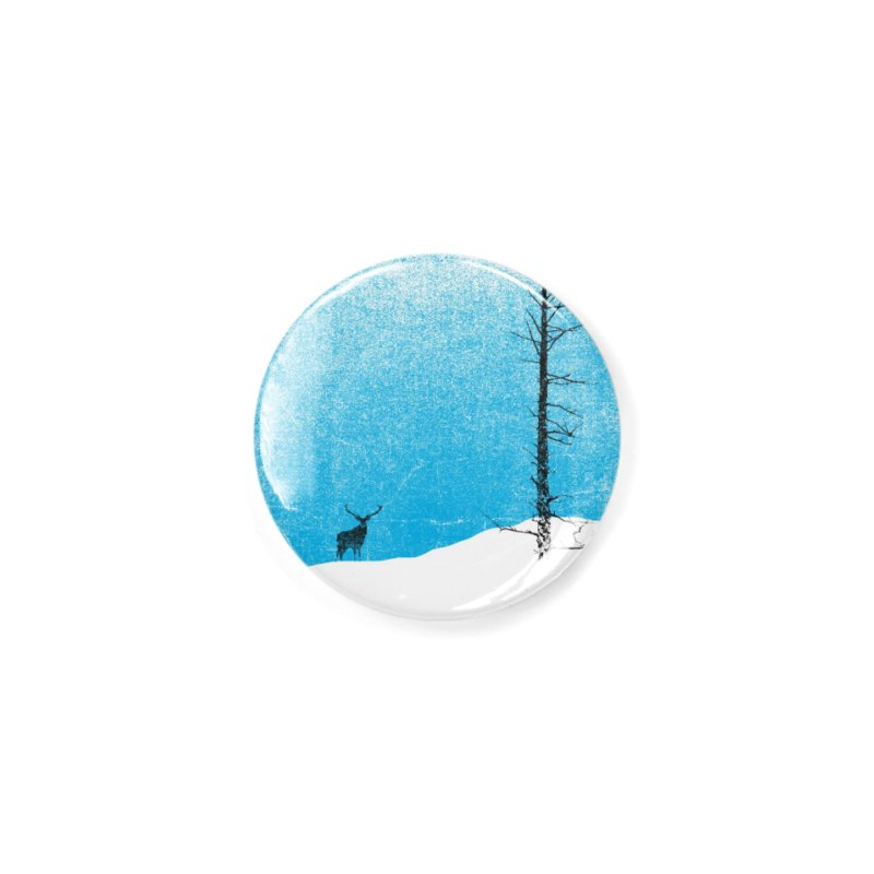 Lonely Tree (rework) Accessories Button by bulo