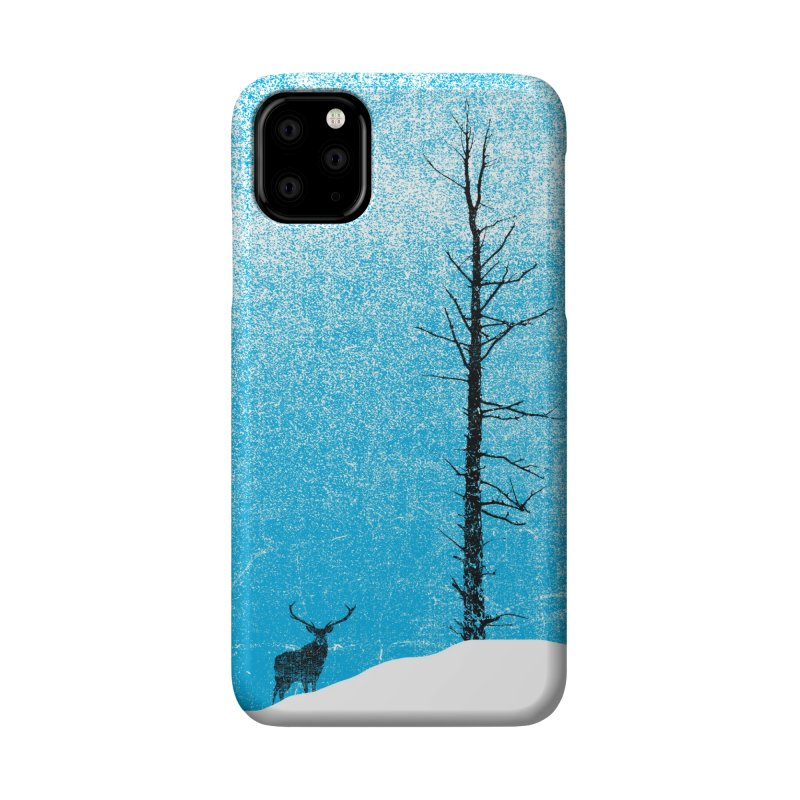 Lonely Tree (rework) Accessories Phone Case by bulo