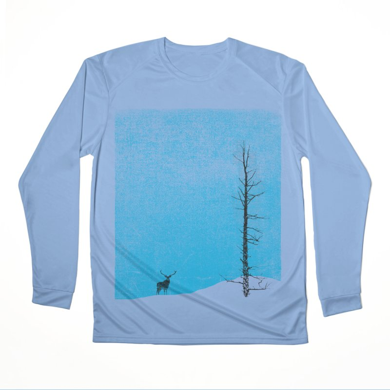 Lonely Tree (rework) Men's Performance Longsleeve T-Shirt by bulo