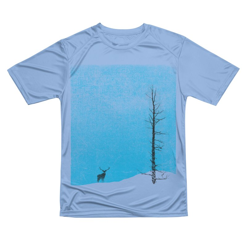 Lonely Tree (rework) Women's Performance Unisex T-Shirt by bulo