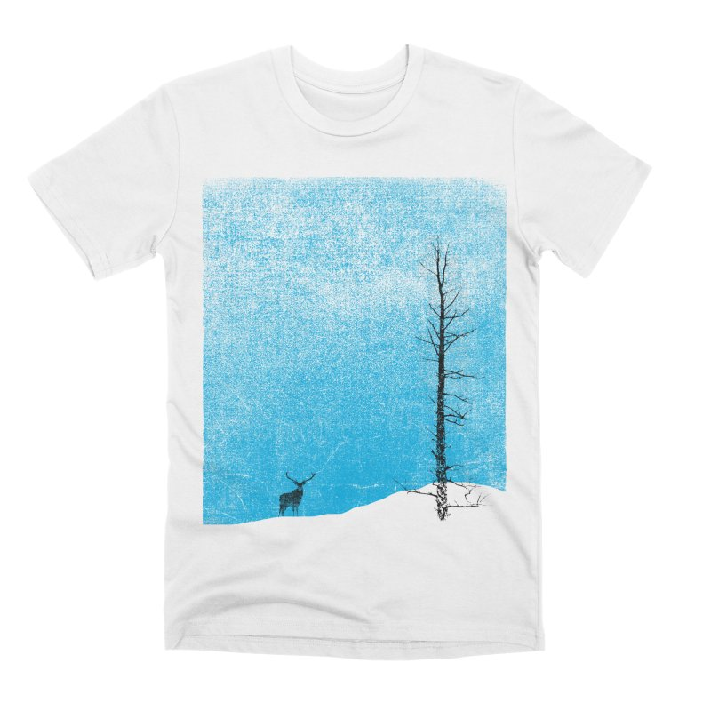 Lonely Tree (rework) Men's Premium T-Shirt by bulo