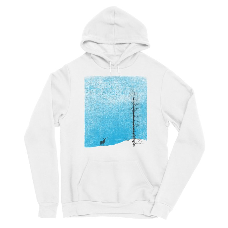 Lonely Tree (rework) Men's Sponge Fleece Pullover Hoody by bulo