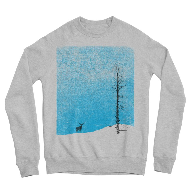Lonely Tree (rework) Women's Sponge Fleece Sweatshirt by bulo