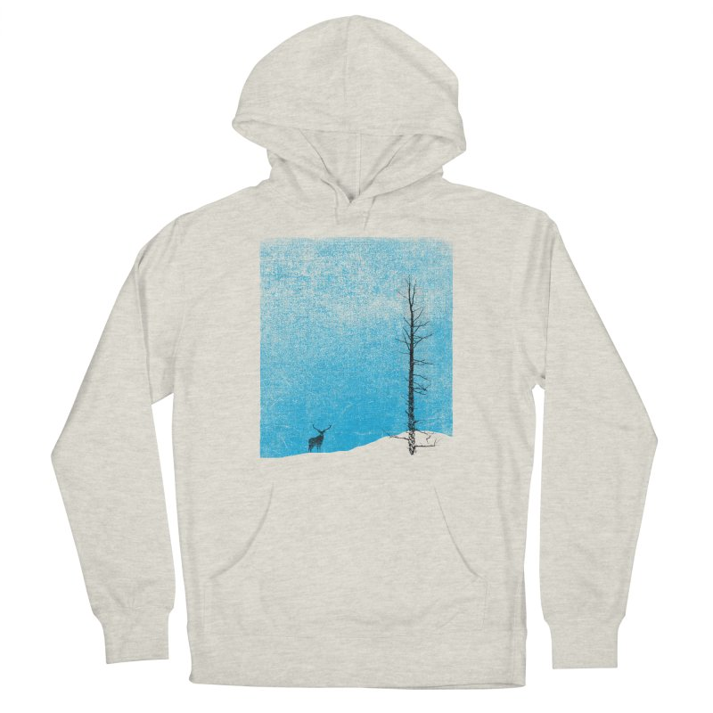 Lonely Tree (rework) Women's French Terry Pullover Hoody by bulo