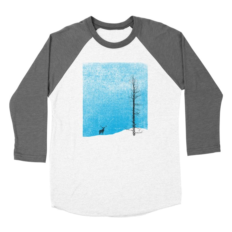 Lonely Tree (rework) Men's Baseball Triblend Longsleeve T-Shirt by bulo