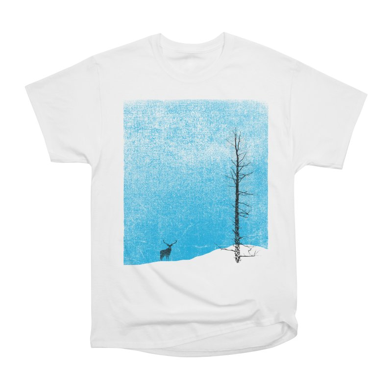 Lonely Tree (rework) Women's Heavyweight Unisex T-Shirt by bulo