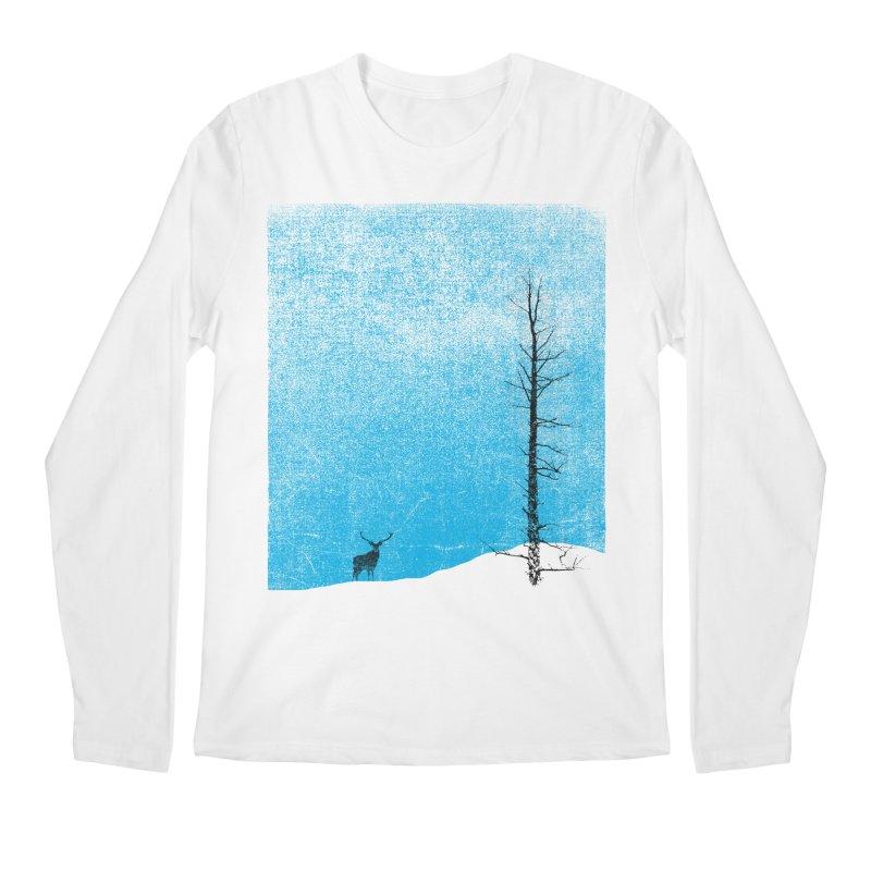 Lonely Tree (rework) Men's Regular Longsleeve T-Shirt by bulo