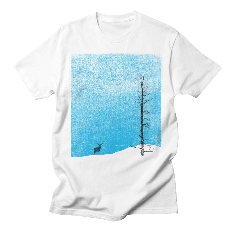 Lonely Tree (rework) Men's T-Shirt by bulo