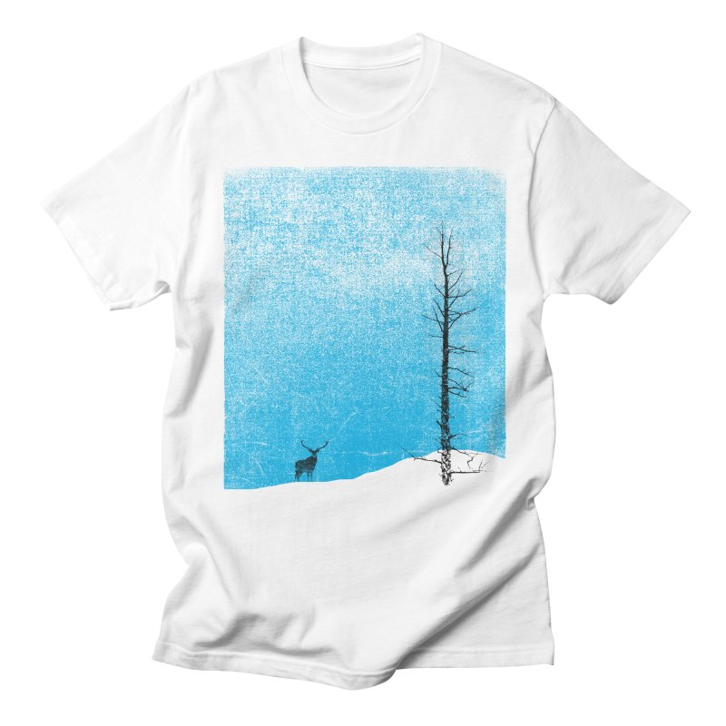 Lonely Tree (rework) Men's Regular T-Shirt by bulo
