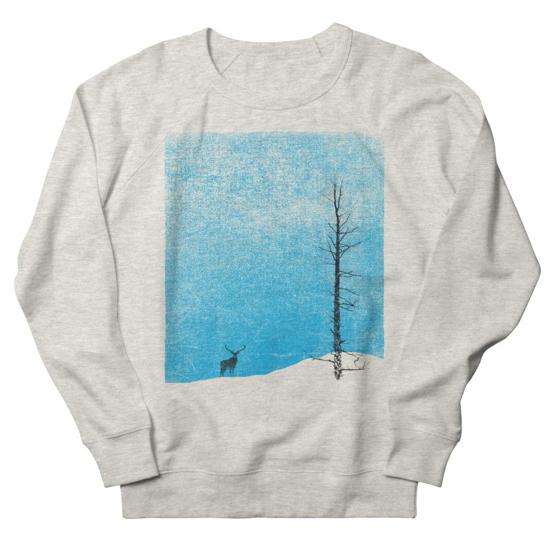 Lonely Tree (rework) Men's French Terry Sweatshirt by bulo