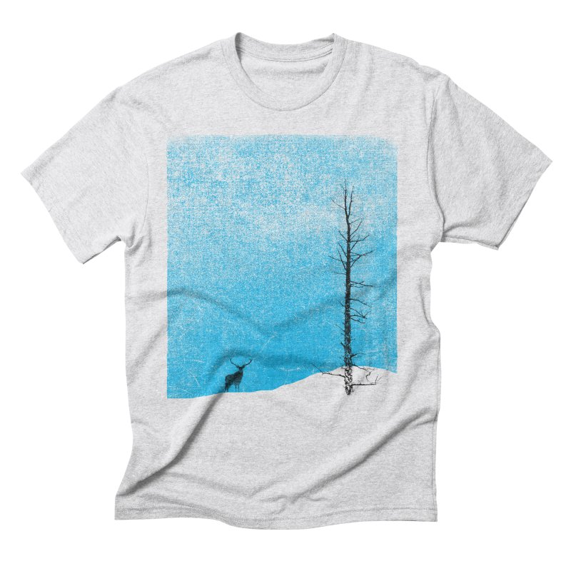 Lonely Tree (rework) Men's Triblend T-Shirt by bulo