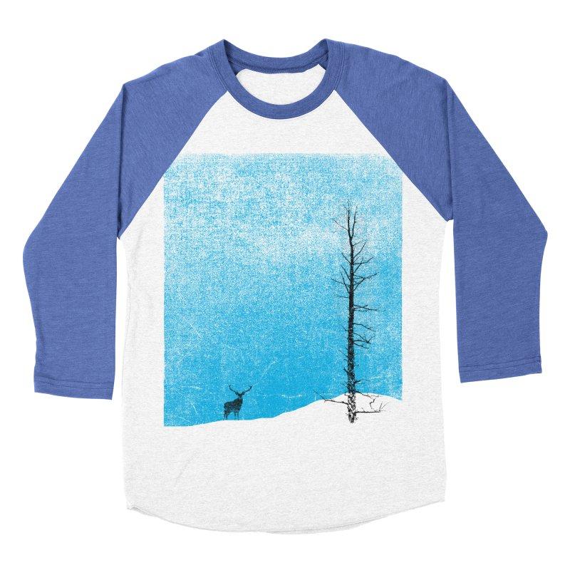 Lonely Tree (rework) Men's Baseball Triblend Longsleeve T-Shirt by bulo