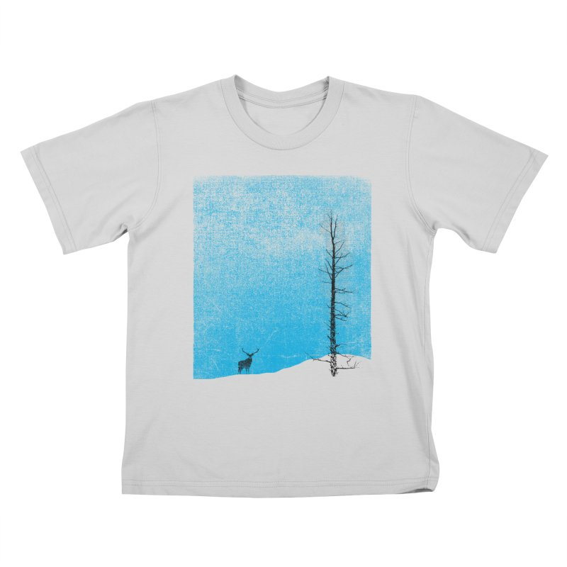 Lonely Tree (rework) Kids T-Shirt by bulo