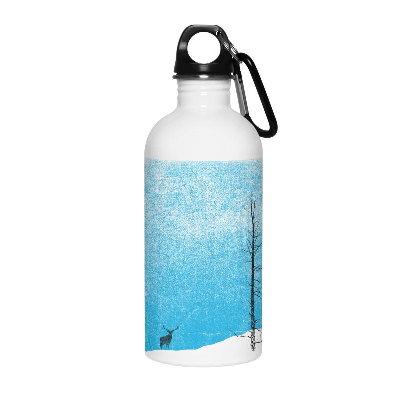 Lonely Tree (rework) Accessories Water Bottle by bulo