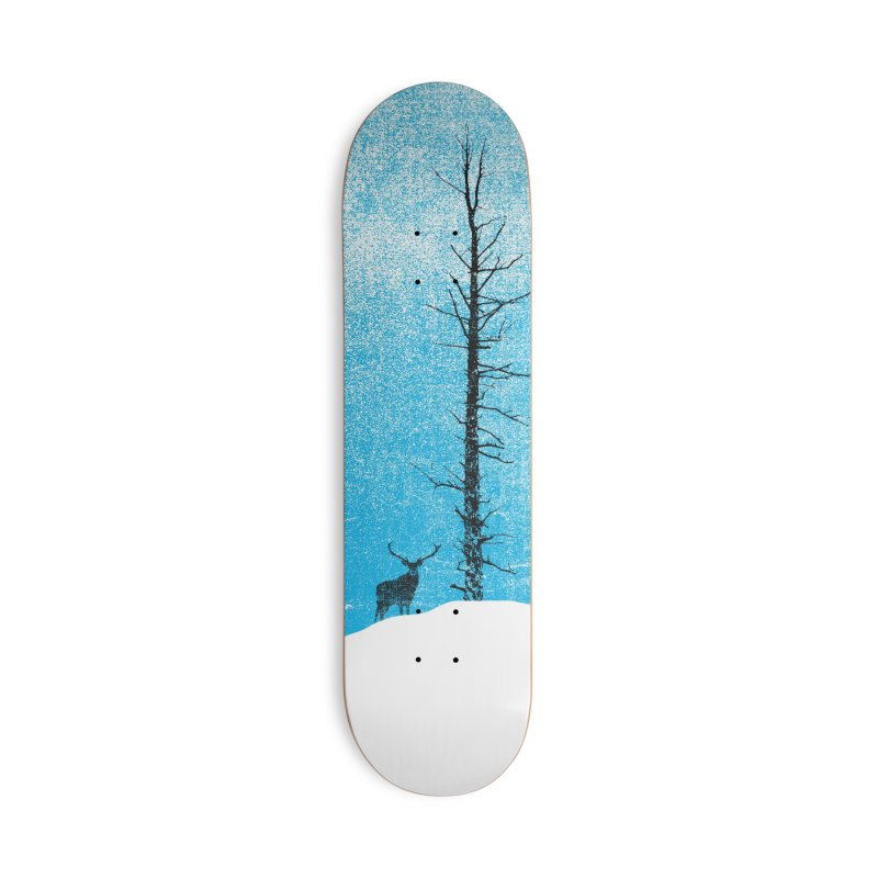 Lonely Tree (rework) Accessories Deck Only Skateboard by bulo