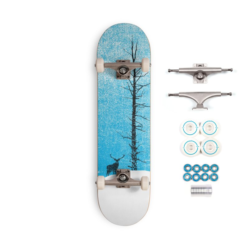 Lonely Tree (rework) Accessories Skateboard by bulo