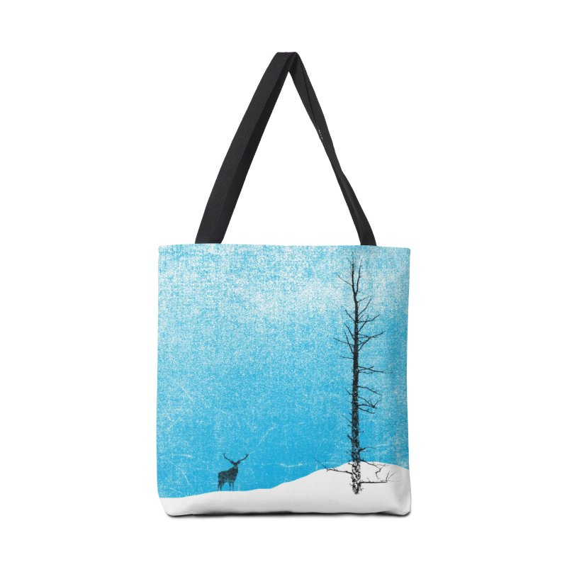 Lonely Tree (rework) Accessories Tote Bag Bag by bulo