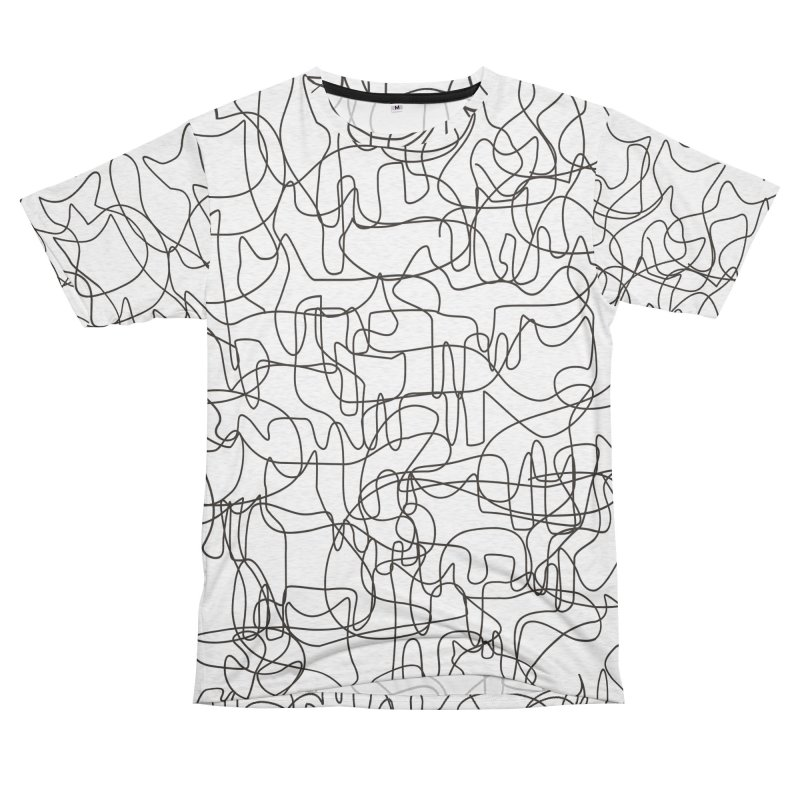 Cats Men's French Terry T-Shirt Cut & Sew by bulo